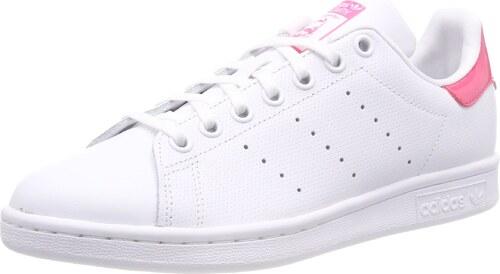 adidas Stan Smith J 207, Bas mixte adulte Blanc (Ftwr