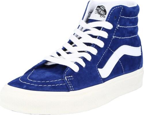 VANS Baskets hautes 'UA SK8-Hi' blanc / bleu roi - GLAMI.fr