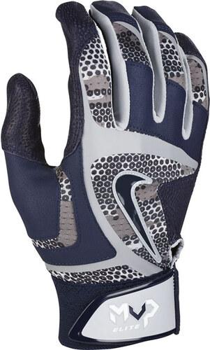 Style GB0378-071 fabricants Standard prix de détail $45 Pewter-Volt Nike MVP Elite Adulte Gants de batteur