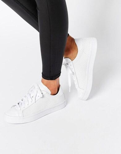 Adidas Originals Court Vantage Baskets en cuir perforé