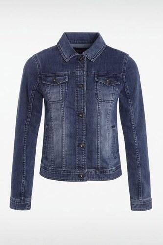 Veste Femme Elasthanne broderie femme Bleu cactus jeans Y7I6vgbfy