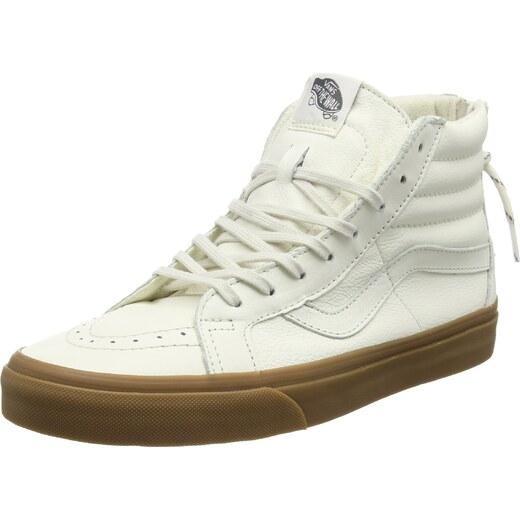 Vans SK8 Hi Reissue Zip, Sneakers Hautes Mixte Adulte, Blanc