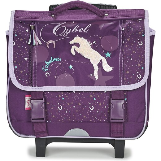 acheter populaire 1e869 800c8 Dessins Animés Cartable CYBEL CHEVAL TROLLEY CARTABLE 38CM ...