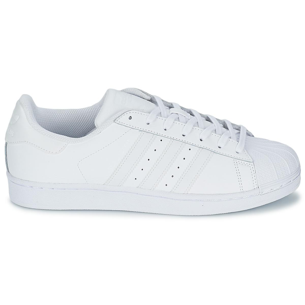 Superstar Adidas Basses Baskets Foundatio Adidas nwkP08XNO