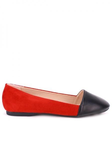 Ballerine Red Koy'sCendriyon Color And Black dtshQr