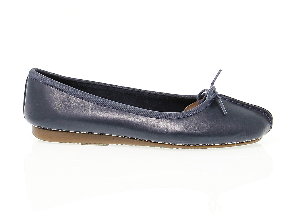 Chaussures En Peau Clarks Freckle Plates Ice 8N0vmwOn