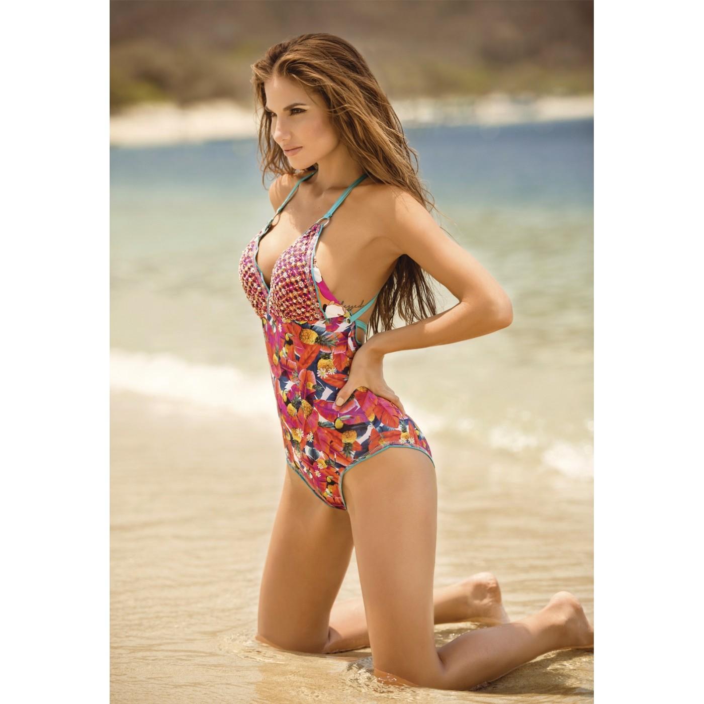 Tropical Bain Mia Delhi Maillot Confitura De Pièce New 1 Exotic xWQrBodCe