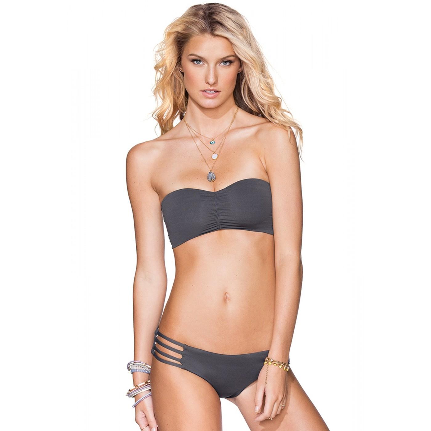 Bikini Maaji Ferriesbas Multi Graphite Lanières Ardoise VGSUpqzML