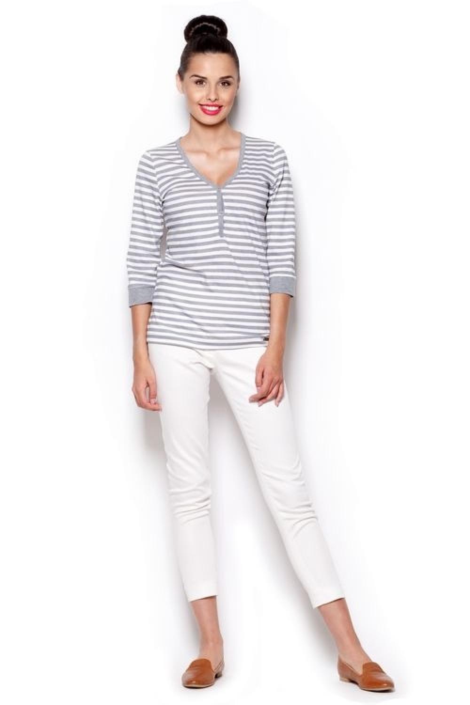 Figl T shirt Femme M289 Grey m8nNwOv0