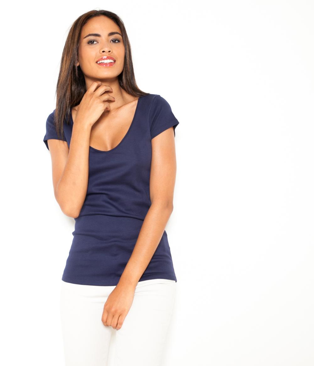 T Femme Camaïeu shirt Camaïeu 100Coton ZO8nN0wkPX