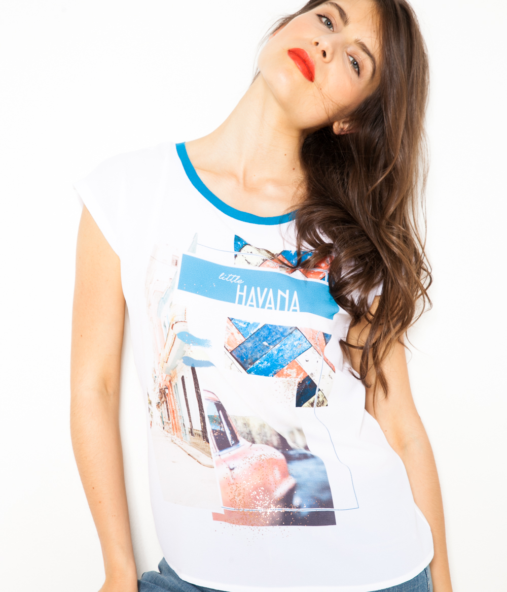 T Femme Imprimé Femme Camaïeu Femme T shirt shirt Camaïeu shirt Camaïeu Imprimé T CxstQdrh