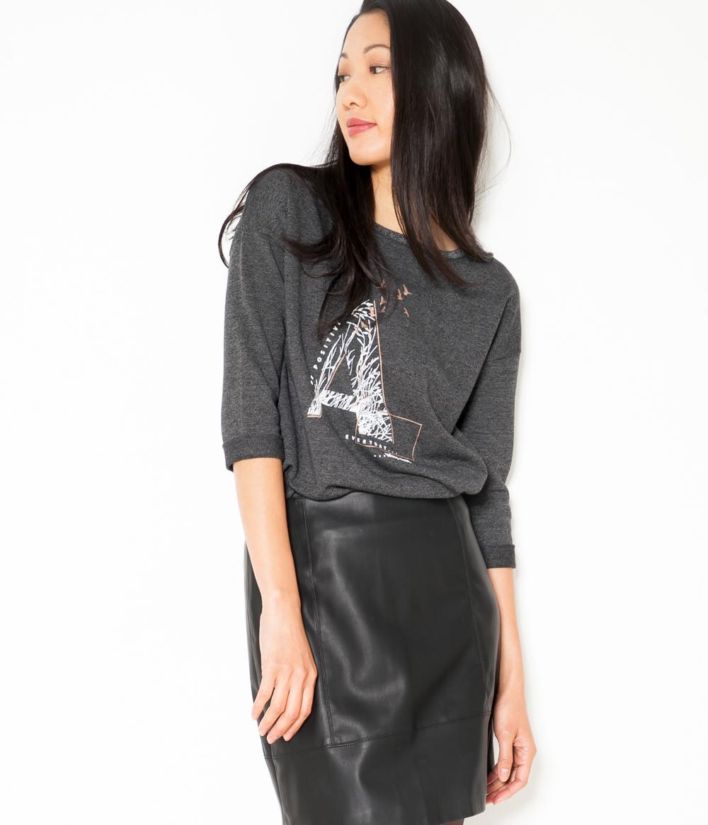 Sweat shirt Esprit Camaïeu Femme T 8nOk0Pw
