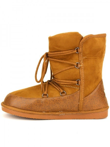 Camel Boots Fourrée StephanCendriyon Boots Fourrée JKTlc13F