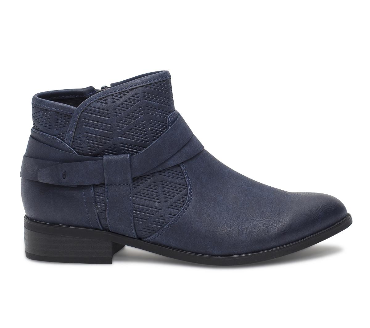 Bleu Boots À Eram Marine Brides XOn0w8kP