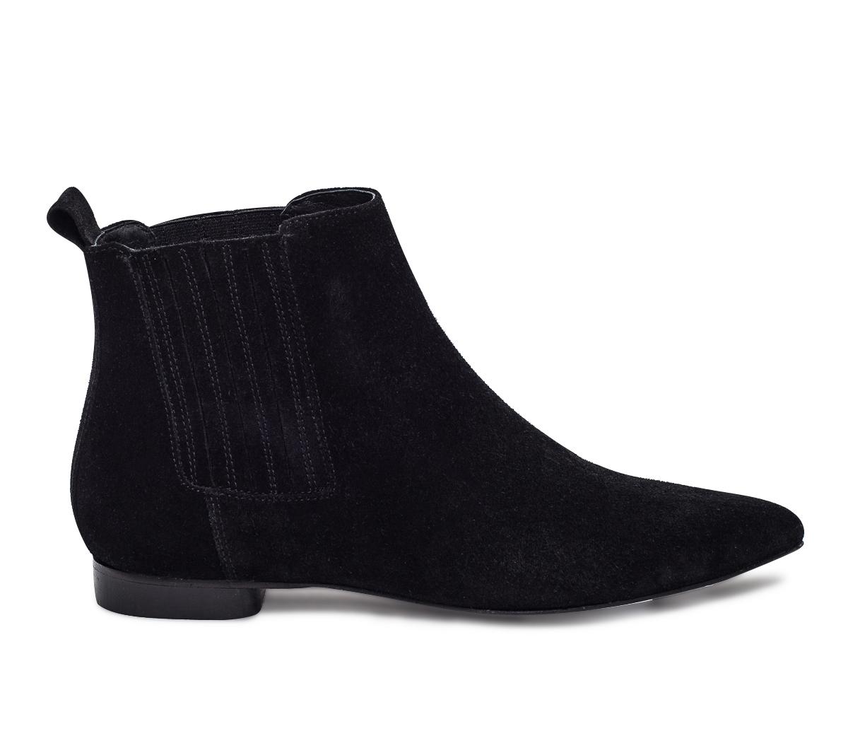 Eram De Croûte Noir Boots En Cuir OZuTiPXk