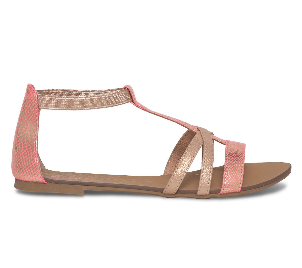 Rose Dorée Et Eram Fluo Sandale IHW9ED2