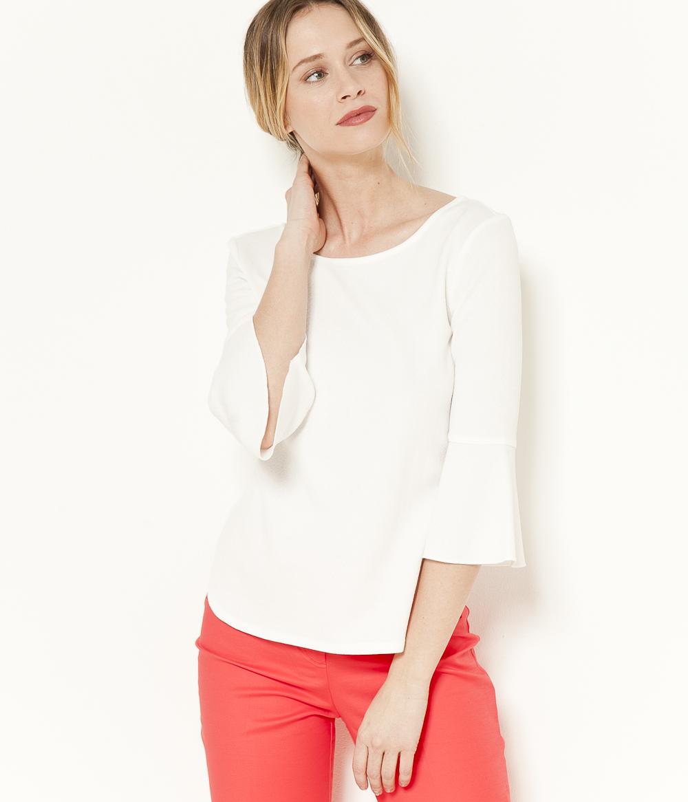 Camaïeu T shirt Manches Femme 4 3 FJT31clK