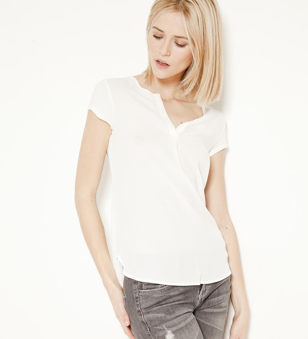 matière Camaïeu shirt Femme T Bi strhQd