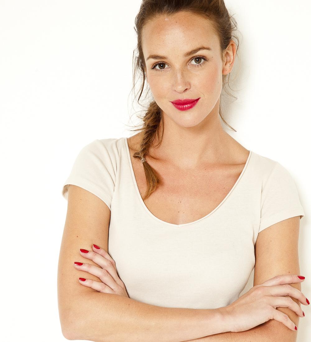 Femme Manches Courtes Camaïeu Col T V shirt eEID2WH9bY
