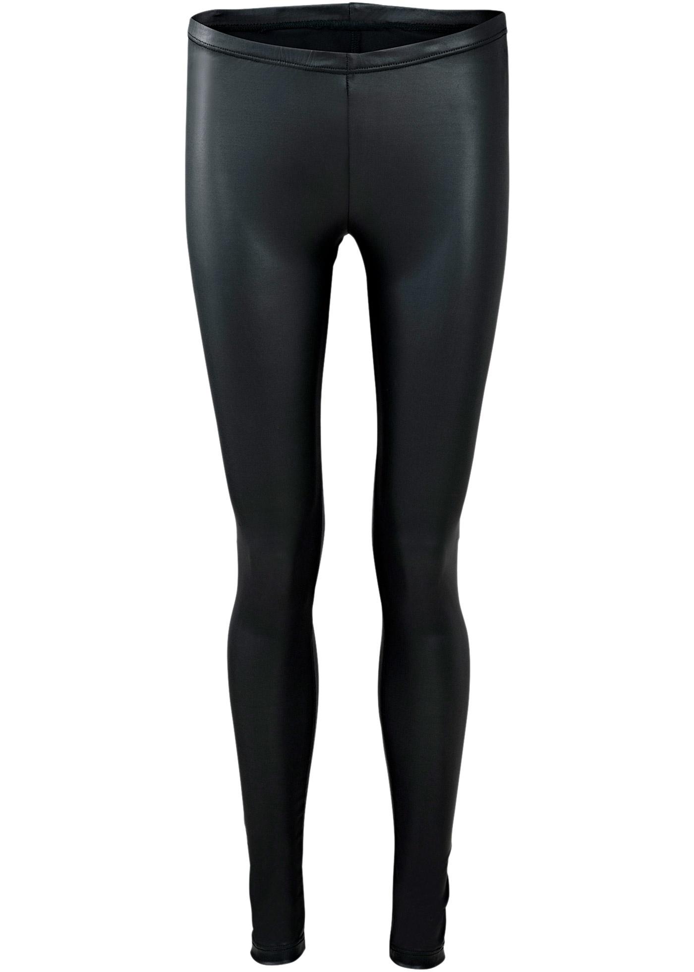Femme BonprixLegging Bodyflirt Pour Enduit Noir Yfv7gb6y