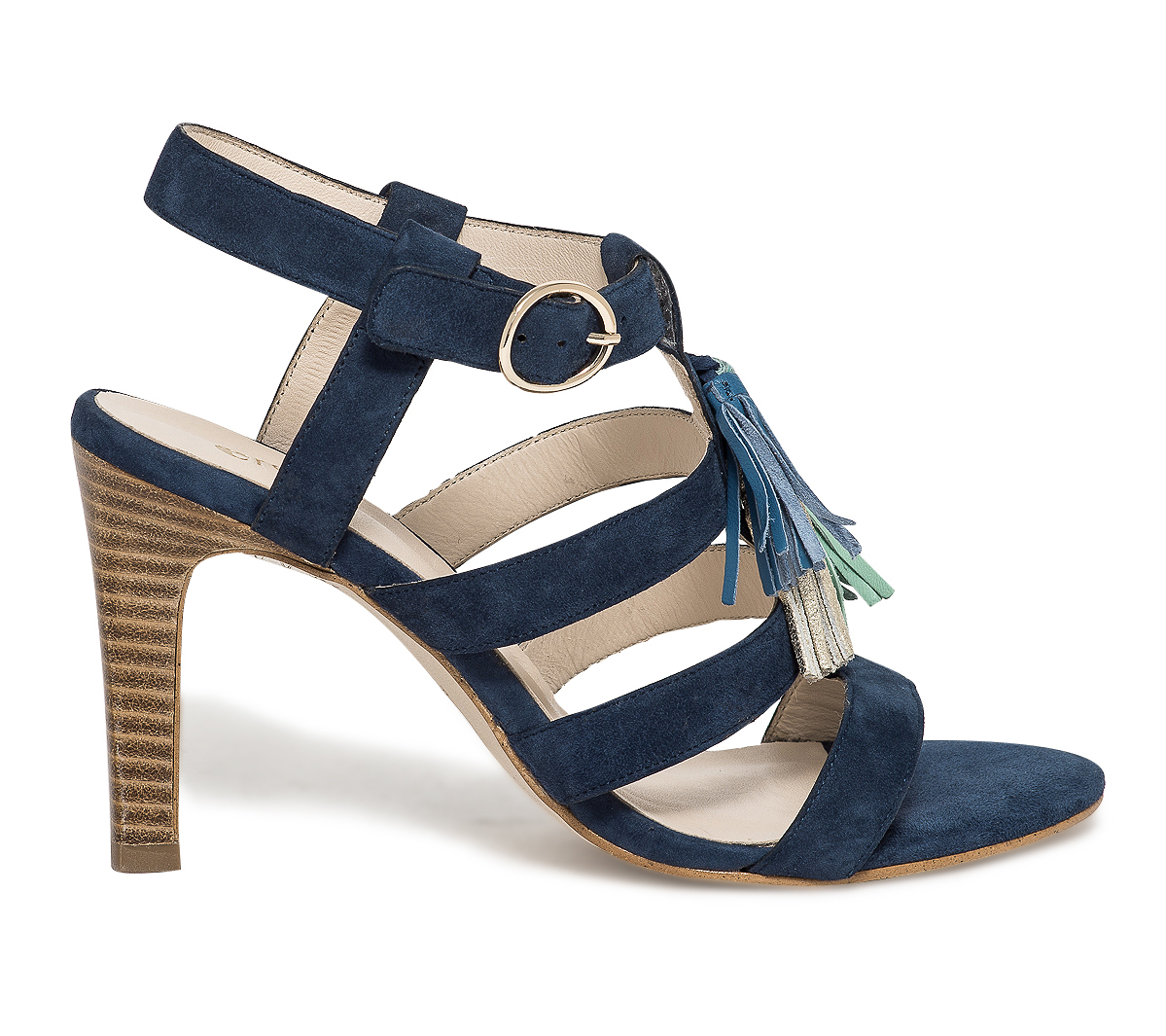À Bleue Multibride Pompons Sandale Eram Tl5uKJF31c
