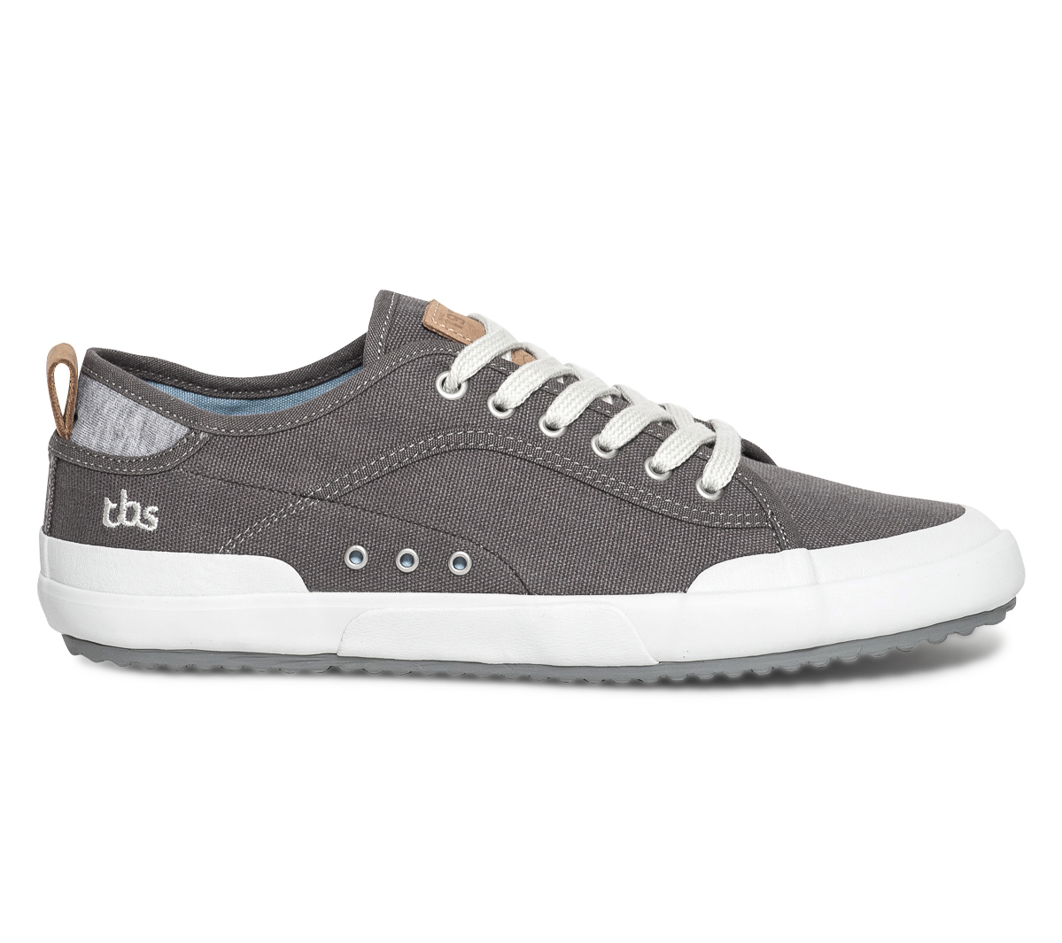 Tennis Anthracite Toile Tbs Gris En FTlK1Jc
