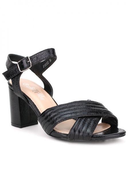 Brillant Sandale NioCendriyon Noire Brillant NioCendriyon Sandale Noire Sandale w8m0Nn