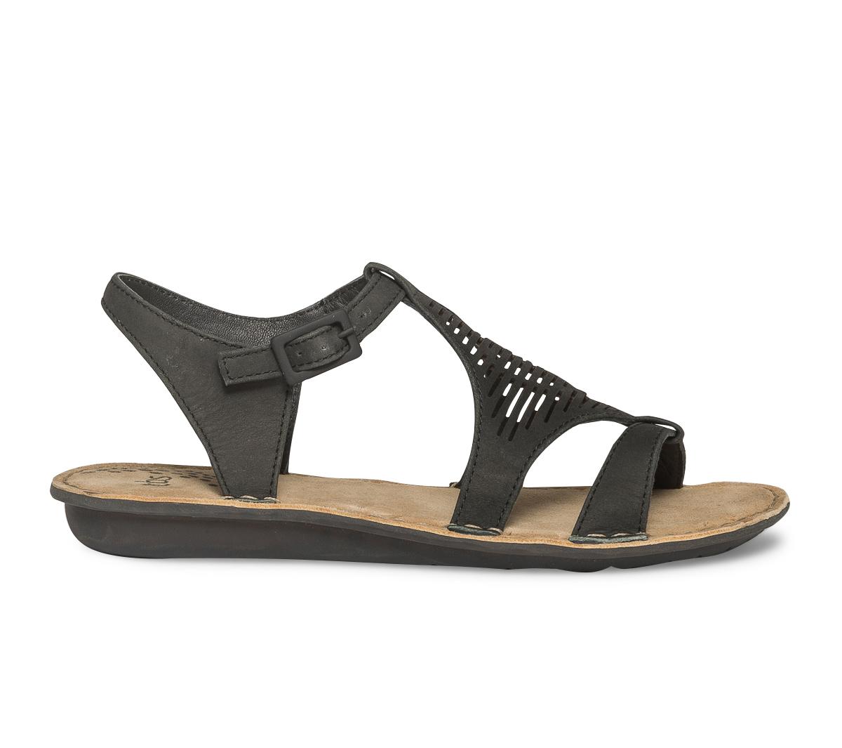 Cuir Sandale Tbs Tbs Sandale Noir PkZuOXi